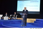 Minister for Finance Edward Scicluna delivers a speech at the Finance Malta 9th Annual Conference with the theme 'Malta's Financial Services Industry - Sustaining Growth through Innovation' Hilton, St Julian's