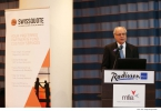 Edward Scicluna delivers a keynote address at the Annual Malta Funds Conference