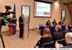 Minister for Finance Edward Scicluna delivers a keynote address at a workshop, in collaboration with Bruegel with the theme: Active Labour Market Policies: What Works? Vassalli Hall, Mediterranean Conference Centre, Valletta