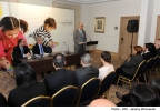 Minister for Education and Employment Evarist Bartolo and Minister for Finance Prof. Edward Scicluna at the official signing of the free child care services agreement Westin Dragonara Resort, St.Julian's