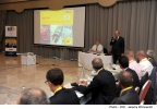 Minister for Finance Prof. Edward Scicluna delivers the opening speech at the 3rd DHL Life Science Dialogue in Malta  Xara Lodge, Limits of Rabat