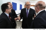 Minister for Finance Edward Scicluna presides over a ceremony marking the official merger of Malta Stock Exchange and the Malta International Training Centre [19-5-17]