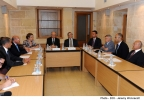 The Hon. Edward Scicluna, Minister for Finance, visits the National Statistics Office. Lascaris, Valletta