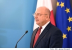 Minister for Finance Edward Scicluna and Minister for the Family and Social Solidarity Michael Farrugia address a press conference Ministry for Finance