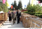 The Hon. Edward Scicluna, Minister for Finance inagurates the beginning of works on the Sta Lucija Chinese Garden Chinese Garden, Sta Lucija